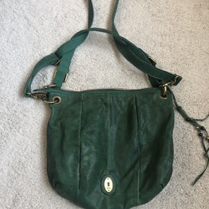 Fossil Leather Crossbody Bag for Sale in Schaumburg, IL