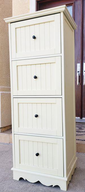 Beautiful 4 Drawers Drawer Storage Organizer Pantry Kitchen Bath Bathroom Cabinet Dresser Chest for Sale in Monterey Park, CA