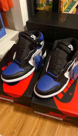 Men's retro Jordan's 1 royal toes size 10 men's for Sale in Pico Rivera, CA