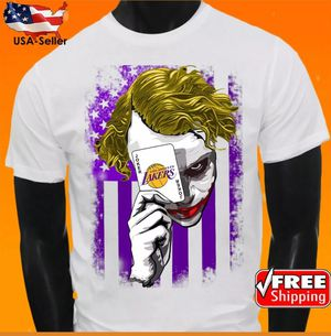 Los Angeles Lakers NBA Basketball Team Jersey Shirt Joker New for Sale in Hollywood, FL