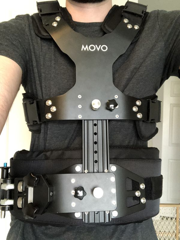 Ronin M with Movo vest and thumb controller