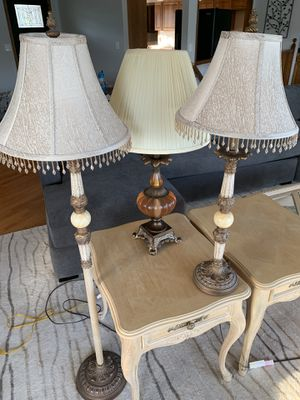 Three (3) Lamps - Selling Together! for Sale in Chelan, WA