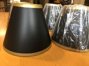 Mini lamp shades —lot of 6 for Sale in Upland, CA