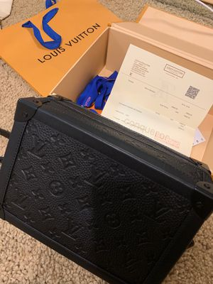 LV Soft Trunk Mini Black Leather Bag accept offers for Sale in San Diego, CA