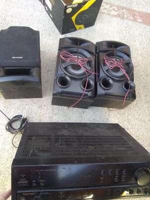 Home Stereo System and Speaker Set for Sale in Leander, TX