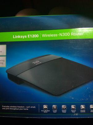 Linksys E1200 Wireless N300 Router for Sale in Detroit, MI