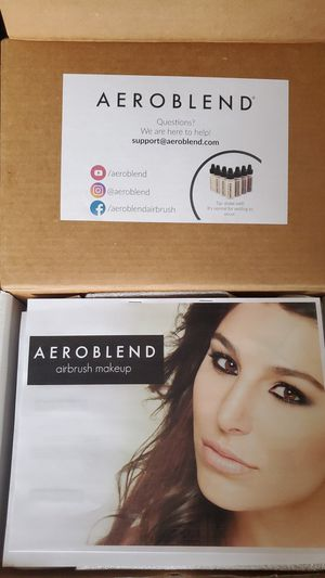 Aeroblend Air brush makeup kit. for Sale in Vancouver, WA
