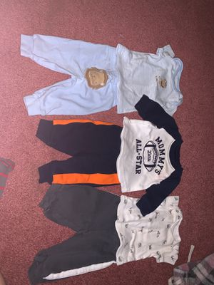 Carters newborn shirts and pants for Sale in Gladewater, TX