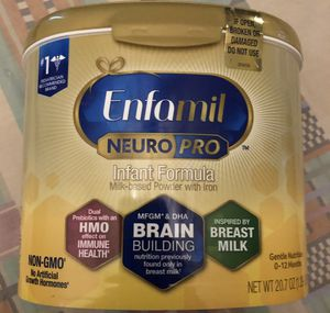 Enfamil Neuro Pro Infant Formula 20.7oz Factory Sealed Exp Aug. 2021 for Sale in Phoenix, AZ