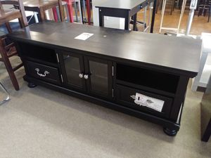 Solid Wood Espresso Tv Stand for Sale in Phoenix, AZ