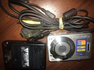 Sony Cybershot DSC-W50 6.0MP Digital Camera for Sale in Livonia, MI