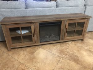Walker Fireplace TV stand for Sale in Avondale, AZ