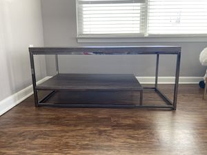 Wood Metal Coffee Table for Sale in Columbus, OH