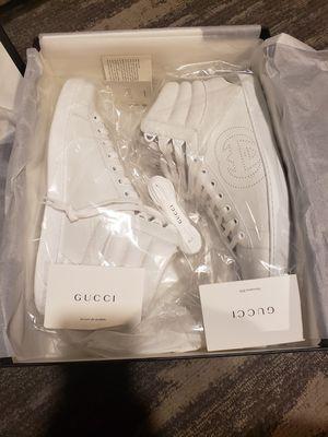 Brand New GUCCI Men's Ace sneaker with InterlockingG for Sale in Seattle, WA