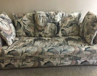 Sofa/Couch With 5 Cushions for Sale in Quincy,  MA