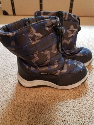 Snow boots size 1 youth kids for Sale in Gilbert, AZ