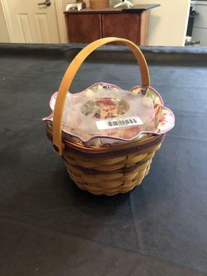 Longaberger morning Glory Basket for Sale in McKinney, TX