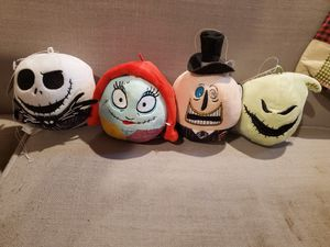 4 x Nightmare before Christmas Plush heads for Sale in Aurora, CO