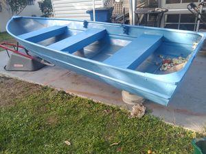 12 ft Aluminum Boat Can Deliver for Sale in Cooper City, FL