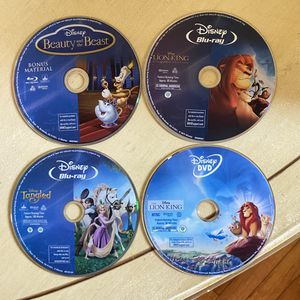 Disney blue ray bundle (7) for Sale in Buena Park, CA