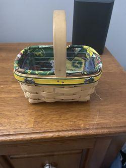 Longaberger John Deere Basket for Sale in Frederick,  MD