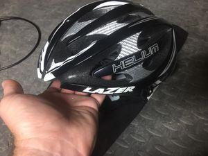 Road bike helmet lazer helium super light for Sale in Ashville, OH