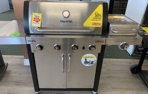Brand New Char-Broil Stainless Steel BBQ Grill! P1K for Sale in Buda, TX