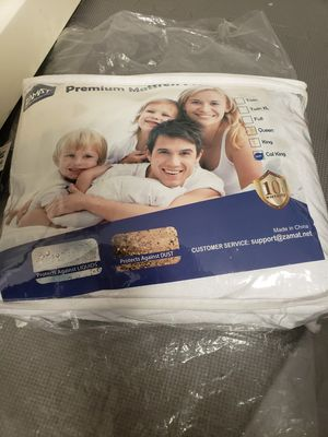 ZAMAT Premium 100% Waterproof Mattress Protector, Breathable & Noiseless Mattress Pad Cover, Fitted for Sale in Louisville, KY