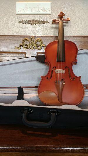 Beautiful Violin 4/4 Natural Wood Unique Matt Finish for Sale in San Marcos, CA
