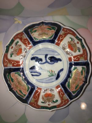 Antique Early Meiji Period Japanese Imari Porcelain for Sale in Blandford, MA
