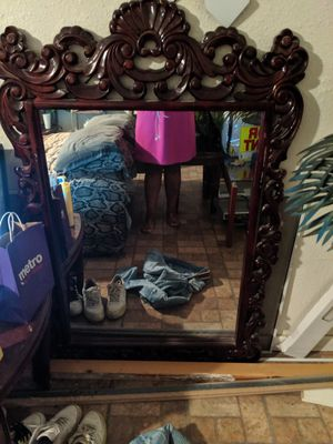 Table and Mirror for Sale in Centreville, IL