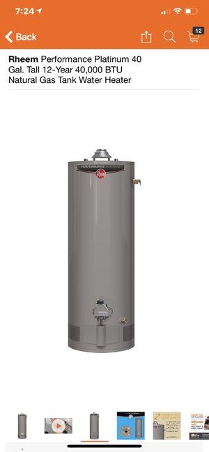 Rheem 40 gallon Gas Hot Water Heater! for Sale in Accokeek, MD