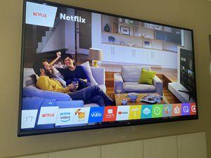 """55"""" LG 4K Smart TV + wall mount for Sale in Scottsdale, AZ"""