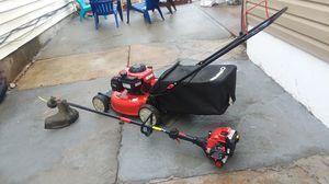 Selling Troy-Bilt trimmer Troy-Bilt lawn mower for Sale in St. Louis, MO