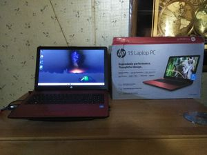 HP 15 laptop PC new open box for Sale in Colorado Springs, CO