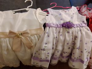 15 (12-24m dresses)overall and 2 jackets for Sale in Abilene, TX