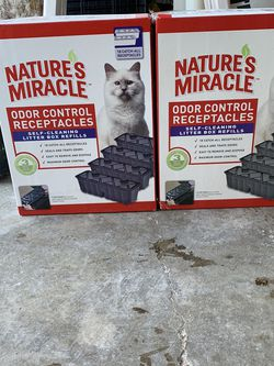 Nature's Miracle Litter Box refills for Sale in Friendswood,  TX