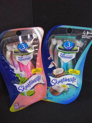 Skintimate disposable razors for Sale in RANCHO SUEY, CA