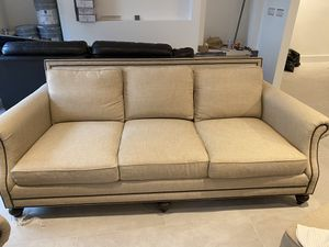 Berhardt living room set. Couch / chair and ottoman for Sale in Miami, FL