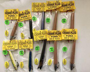 Lead Masters Cedar Plug Trolling Lures New for Sale in Santa Ana, CA