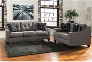 Sofa and Loveseat Set, Grey, SKU# ASH53901TC for Sale in Norwalk, CA