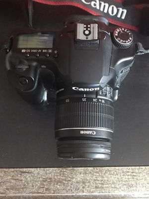 Canon EOS 40 D with Lense 58 mm and battery changer for Sale in Irvine, CA