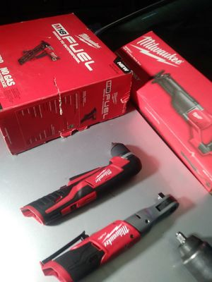 Milwaukee fuel m18 and m12 make offer for Sale in Sacramento, CA