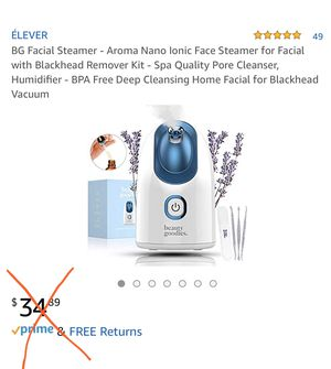 Facial Steamer for Sale in Rosharon, TX