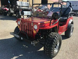 Wylie style Jeep 125cc for Sale in Dallas, TX