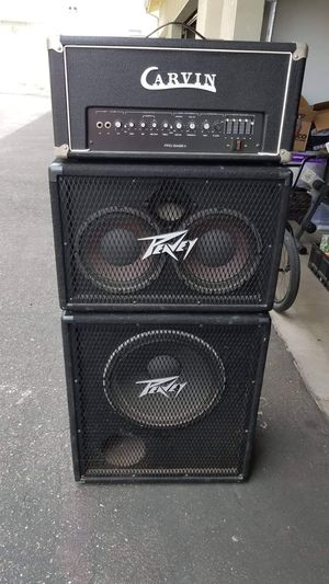 Bass Head and Cabinets for Sale in Oceano, CA