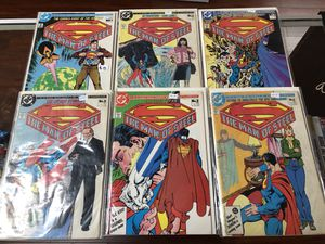 The Man of Steel Superman 6 Part Mini Series Byrne & Giordano for Sale in Sylmar, CA
