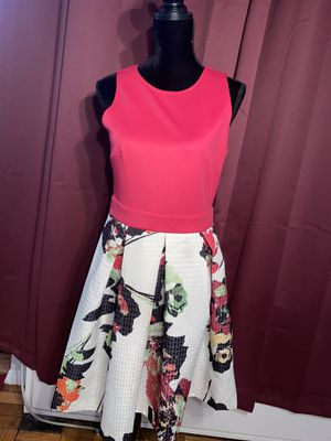 Hot Pink Floral Dress for Sale in White Plains, NY
