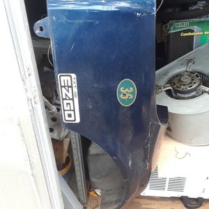 Ezgo..and club car parts .windshields..body shells .seats hubcaps for Sale in Tampa, FL