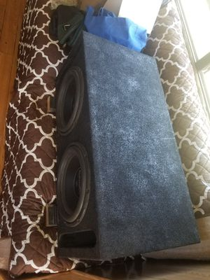Subs amp and speakers for Sale in Atwater, CA